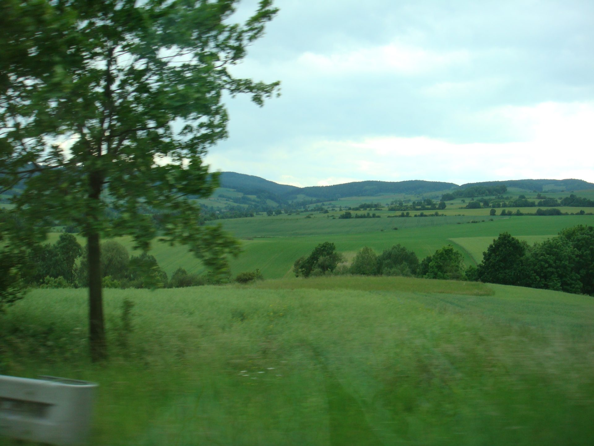 The countryside in Poland near Katowice