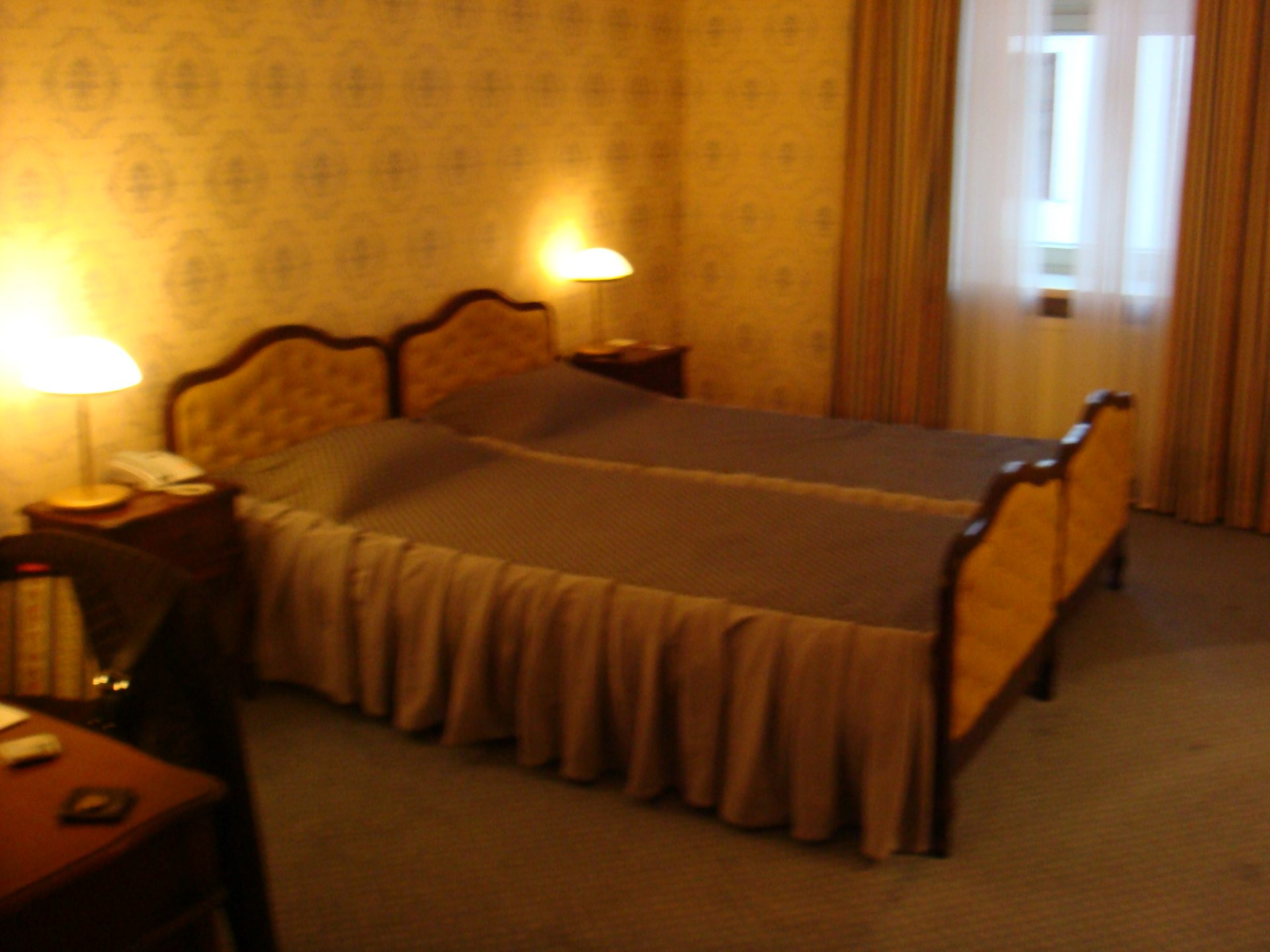 Luxury Polish hotel room