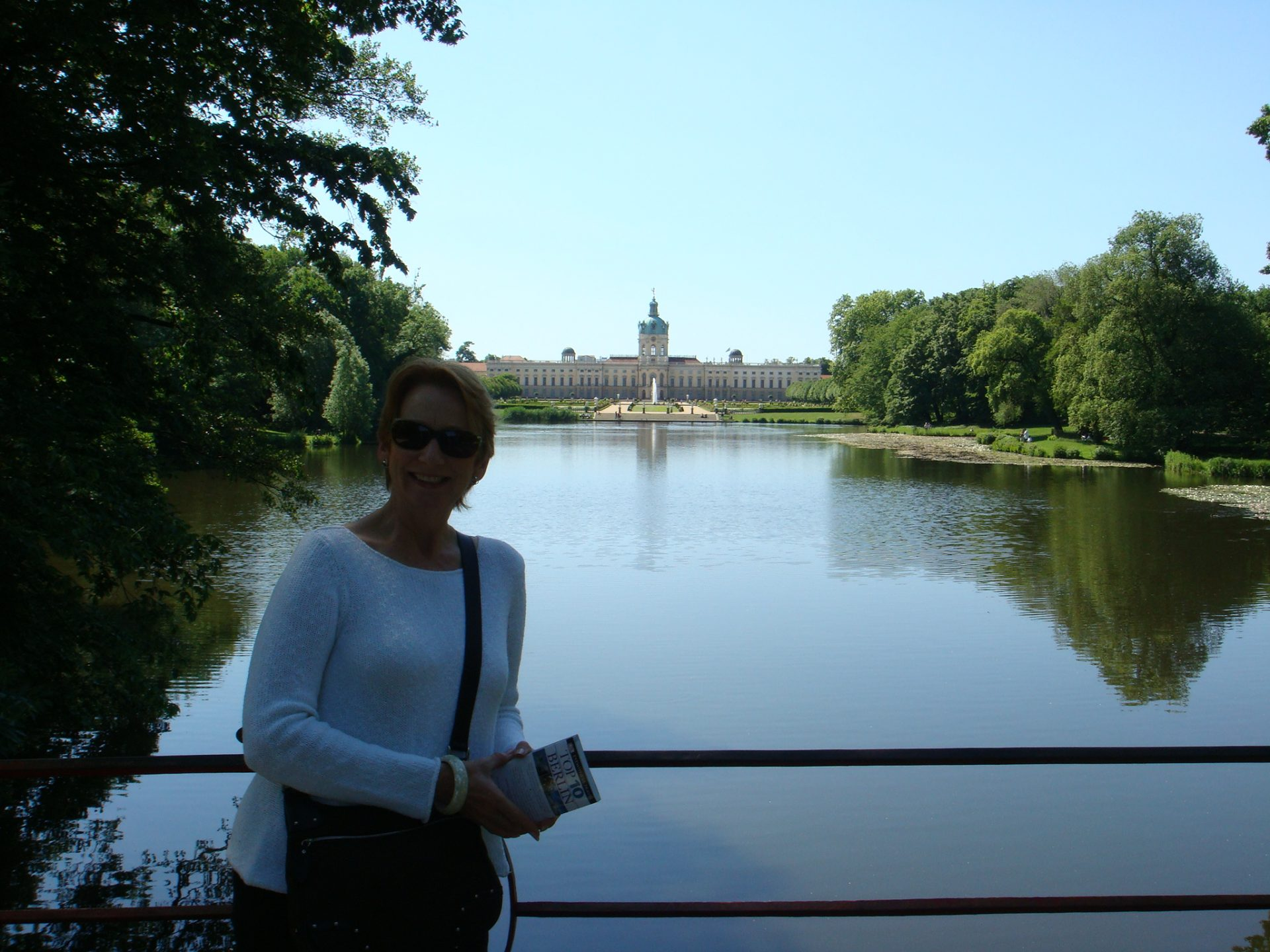 A quite moment at Schloss Charlottenburg, summer residence of the wife of Elector Friedrich III
