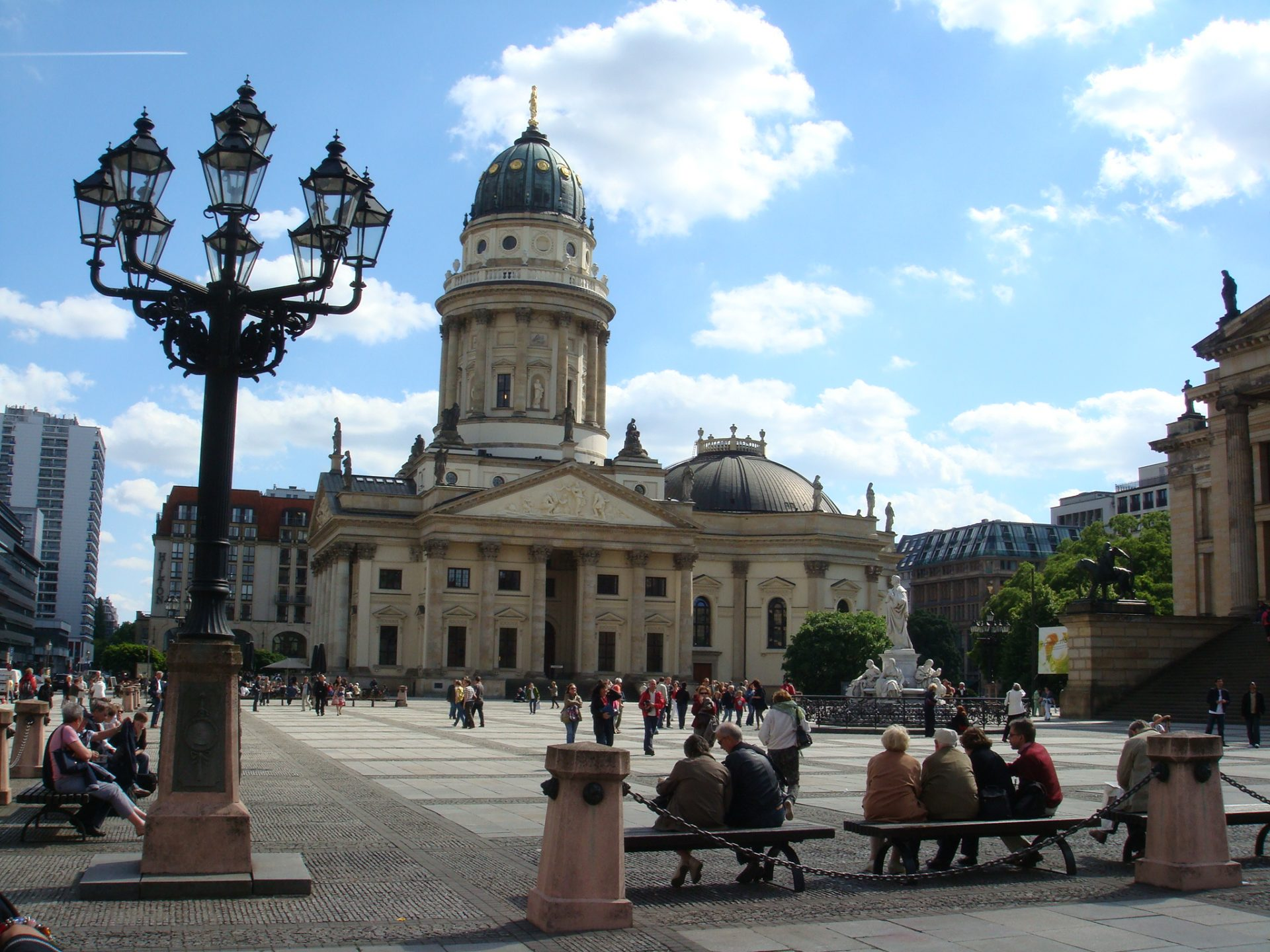 The Gendarmenmarkt, the most beautiful square in Berlin (where a soldier used to be able to procure ANYTHING he needed)