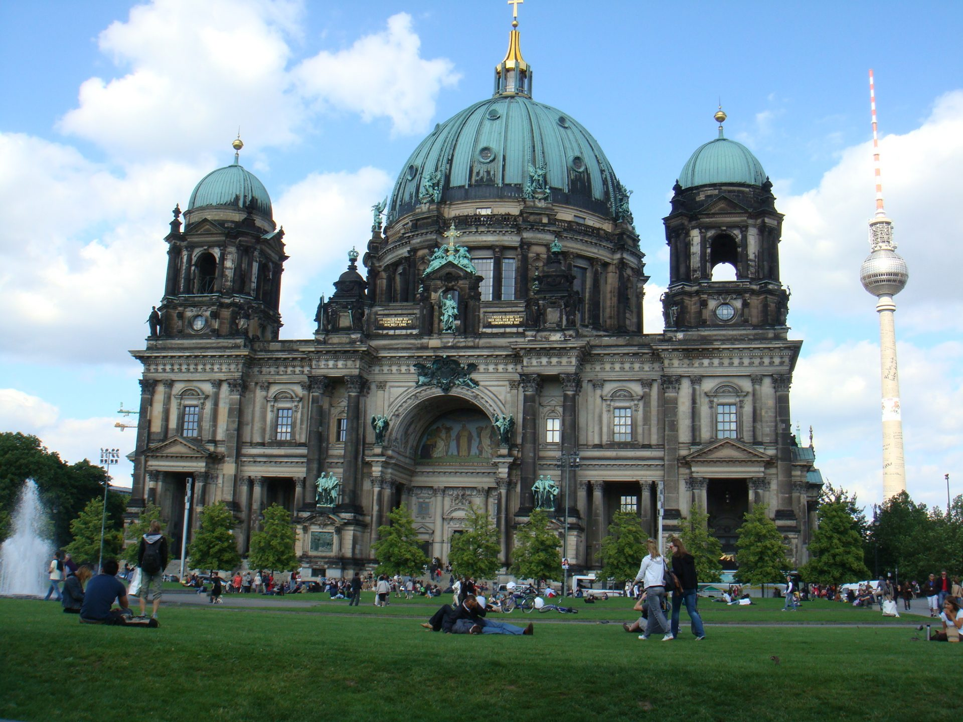 The Berlin Cathedral.  Imagine what the city USED to look like before WWII.