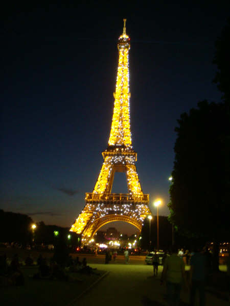 The Eiffel Tower at 11 PM