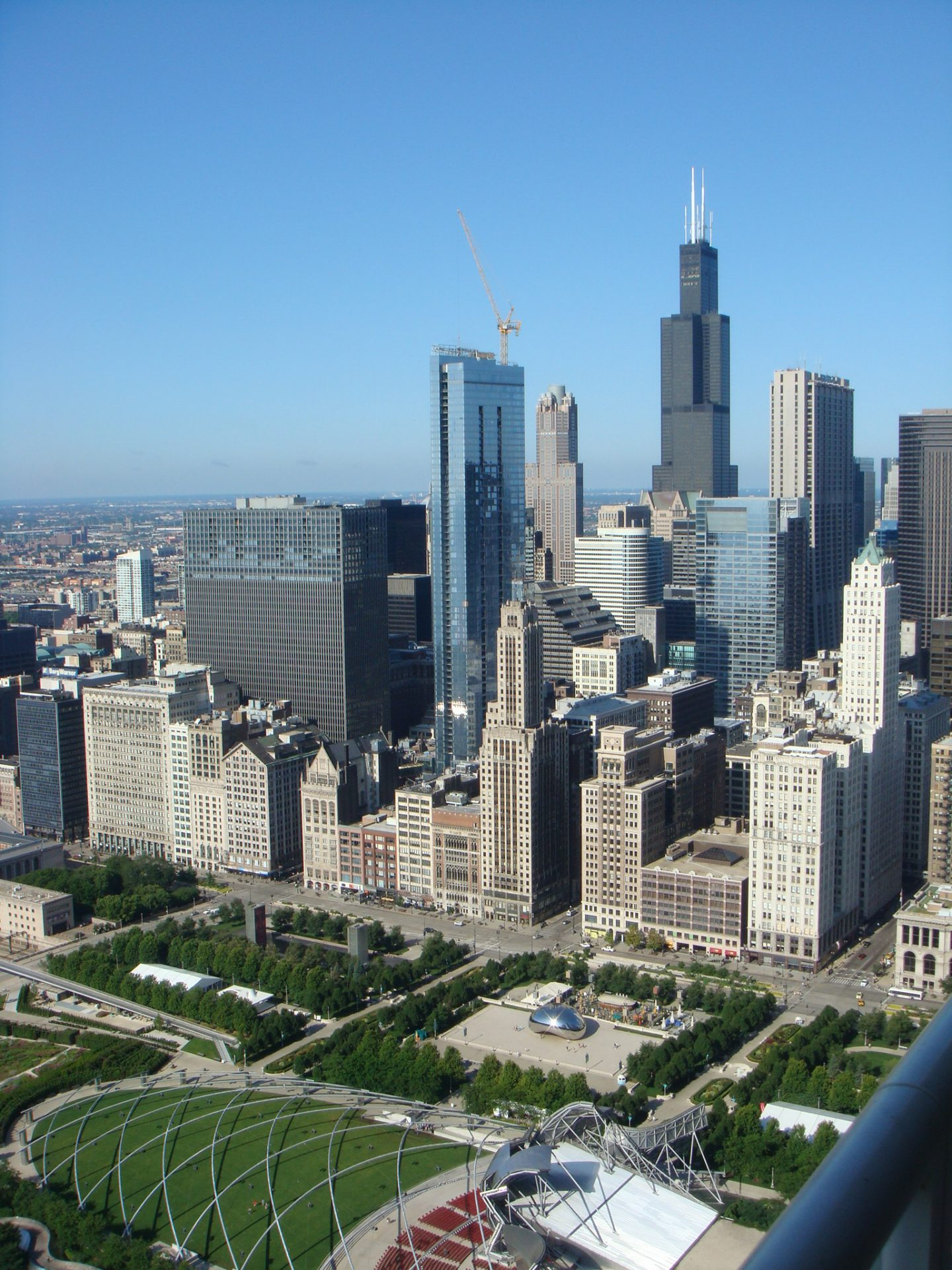 Sears (oops, Willis) Tower and Millennium Park