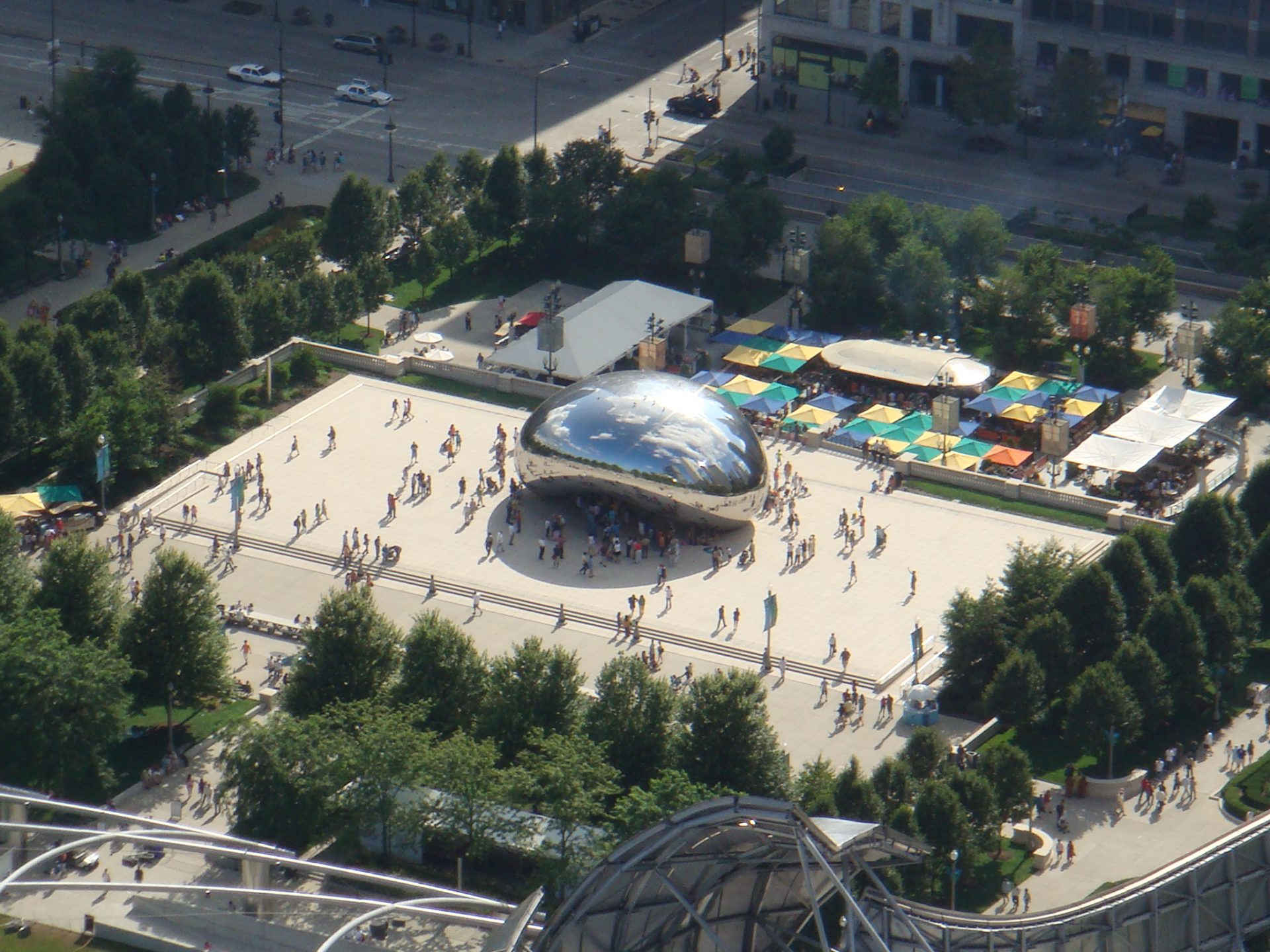 The 'Bean' as it's called by Chicagoans