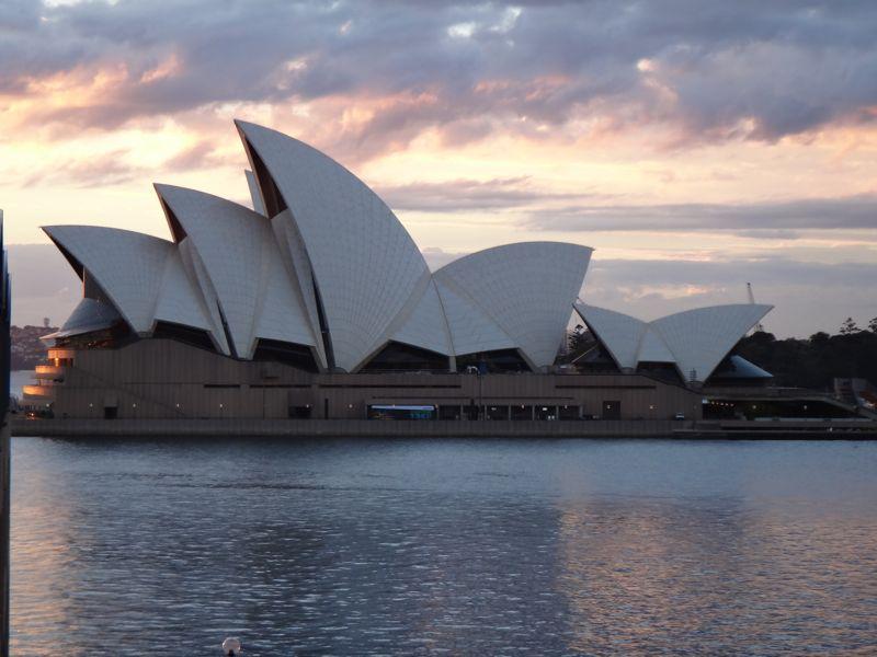 Opera house at Sunrise