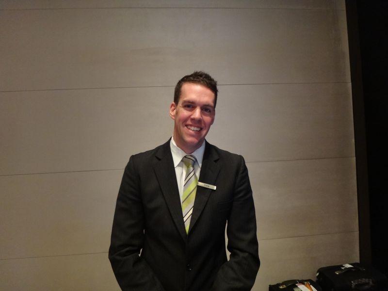 Chris Filcher - concierge extraordinaire