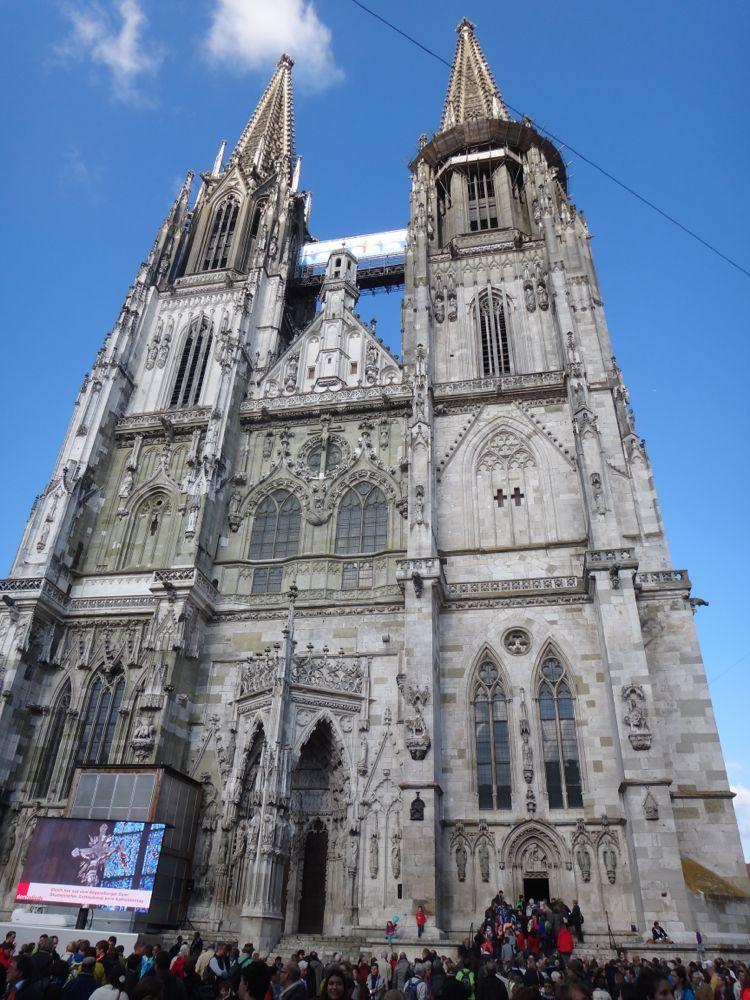 Regensburg Cathedral, begun in 1252