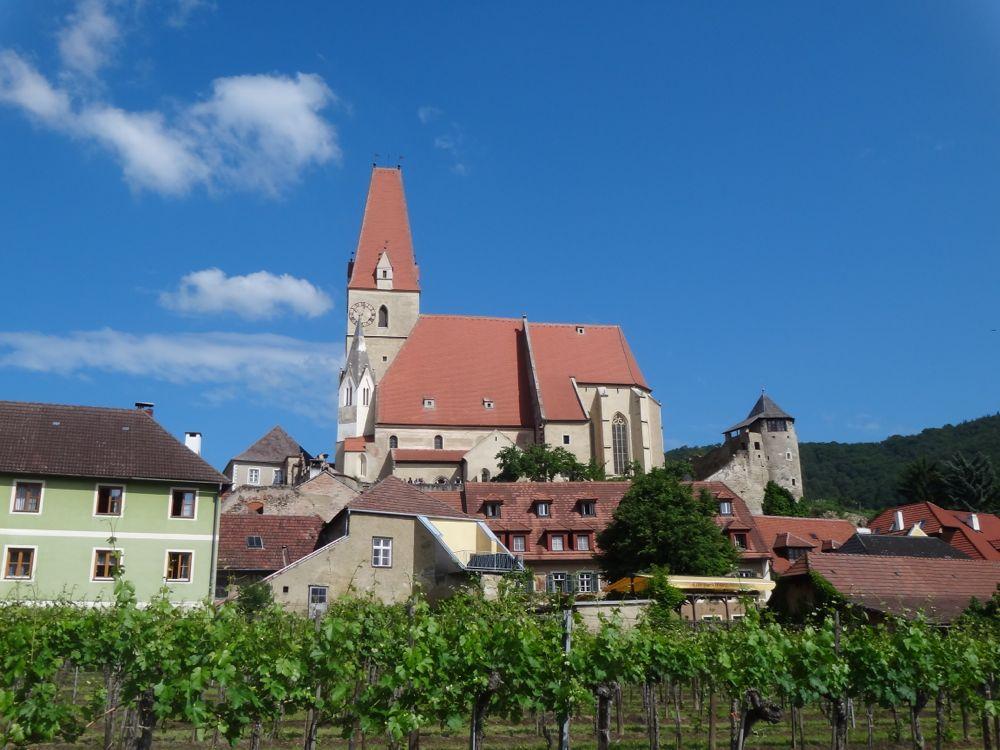 The church at Weissenkirchen