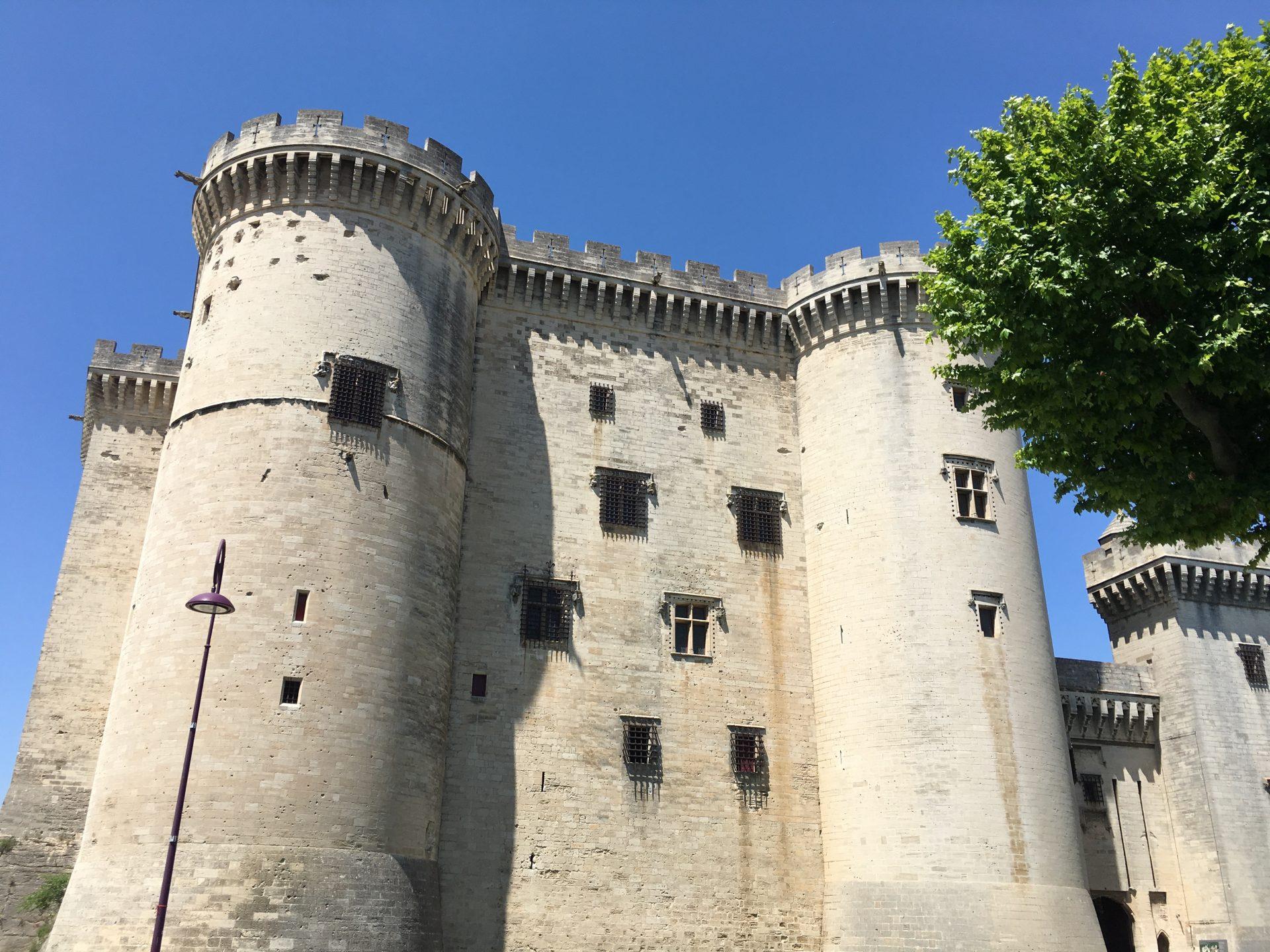 The majestic Chateau de Tarascon