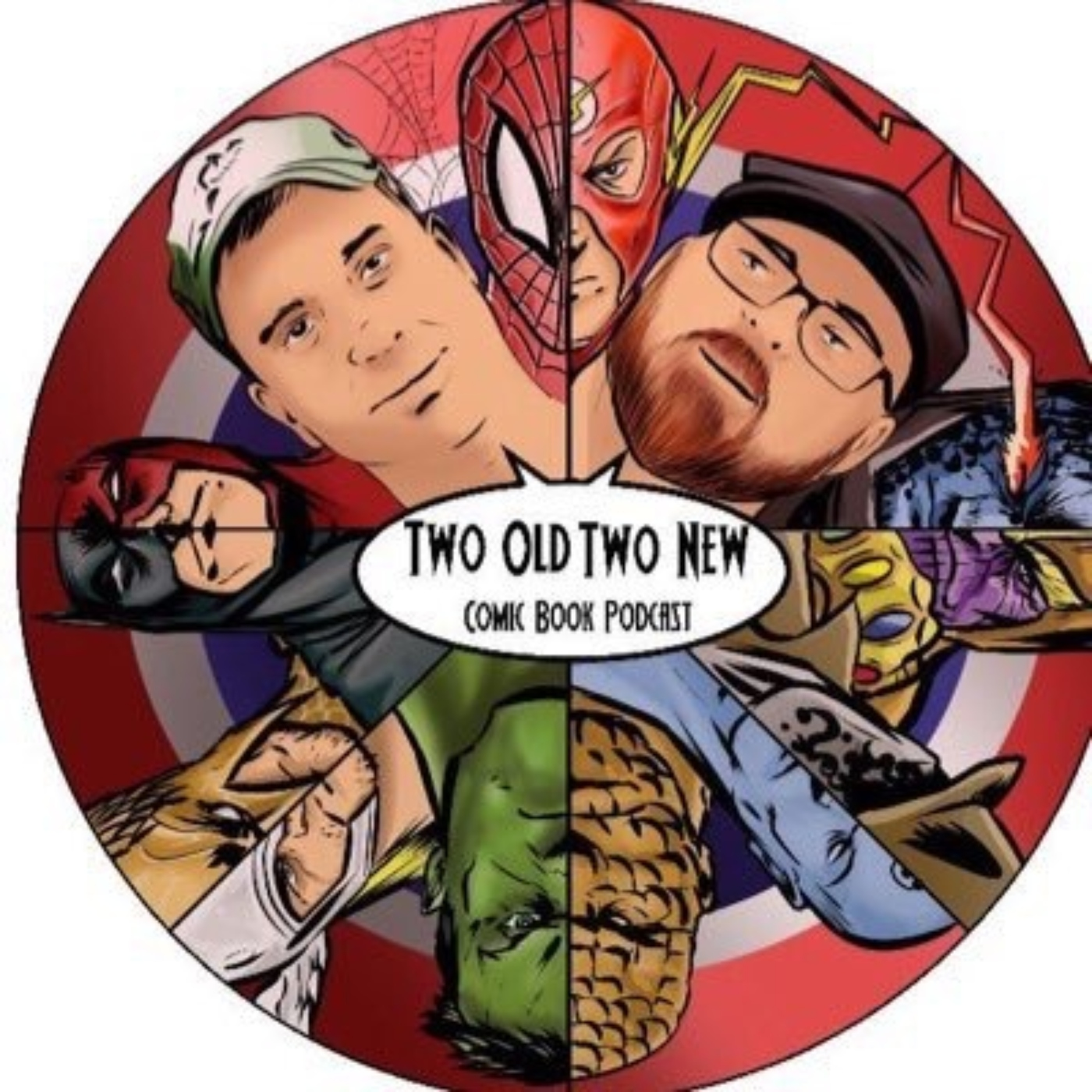 Two Old Two New Comic Book Podcast