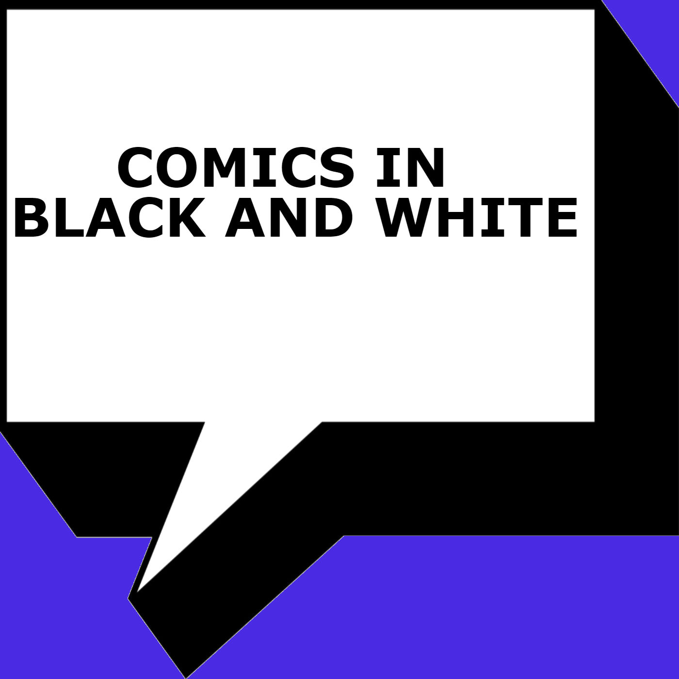 "<p><span style=""color: #5a5a5a; font-family: 'Helvetica Neue', Helvetica, Arial, sans-serif;"">A monthly podcast hosted by Paul Tesseneer and Martin Ferretti discussing some of our favorite black and white comics and their impact on the comic book world.</span></p>"