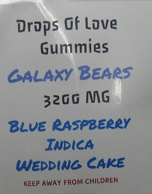 Galaxy Bears 3200 MG Gummies