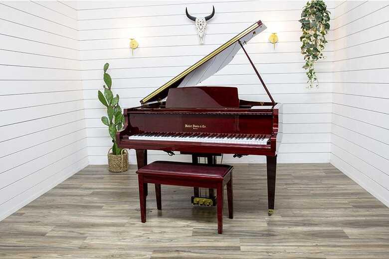 Hallet Davis G-450A Petite Baby Grand Piano