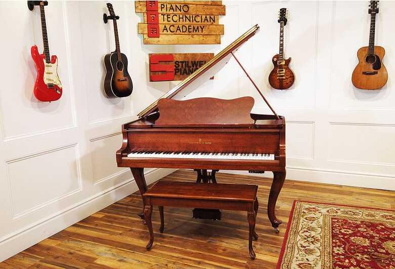 Steinway S Hamburg Player Grand Piano