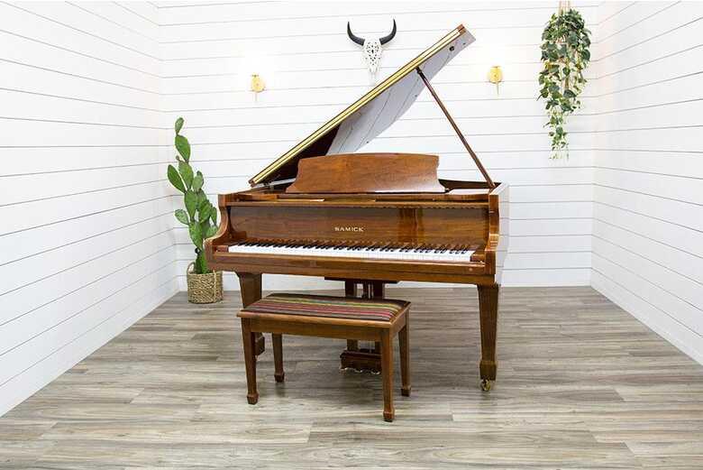 Samick SG-155 Baby Grand Piano