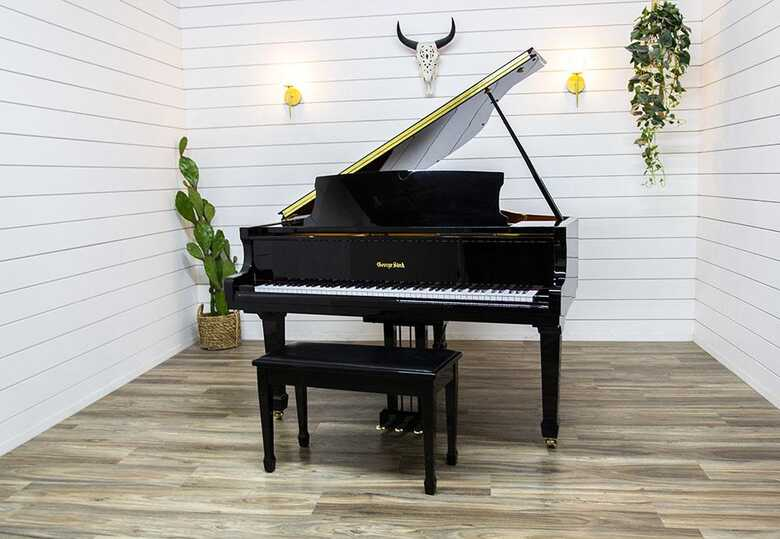 George Steck Player Baby Grand Piano