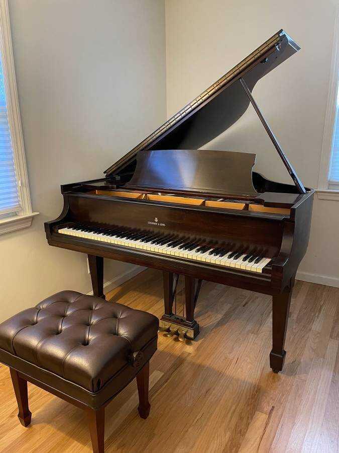 1936 STEINWAY MODEL S BABY GRAND PIANO RESTORED & MINT!
