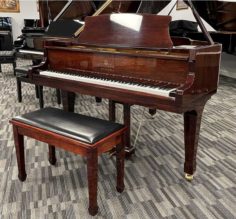 Story & Clark 5' Grand - US Delivery - Picarzo Pianos VIDEO