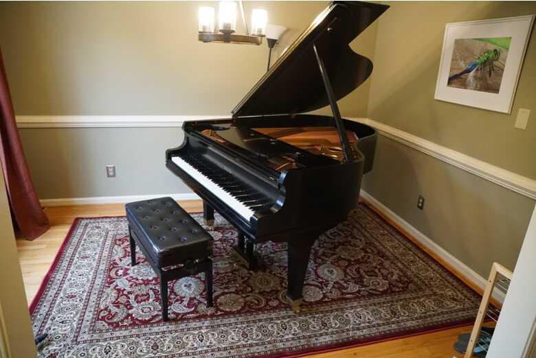 1998 Mason & Hamlin 5'8 Model A grand piano