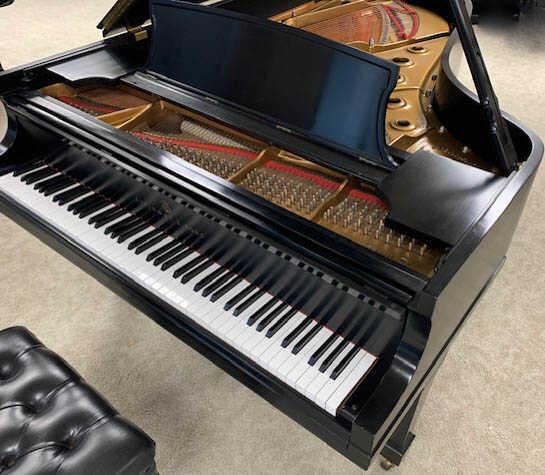 new in 1988, showroom clean STEINWAY & SONS Model B piano