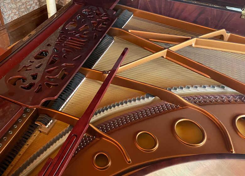 "SOLD - new-in-2001 BOSENDORFER ""STRAUSS"" 7-foot Grand Piano"