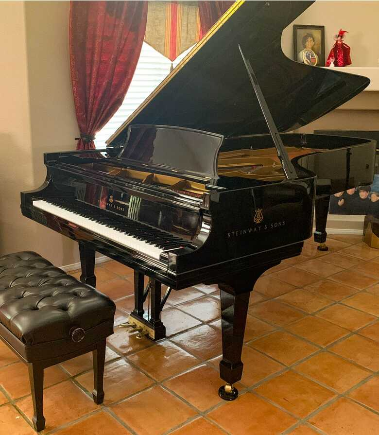 NEW in 1996, low-use STEINWAY & SONS  Model D Concert Grand