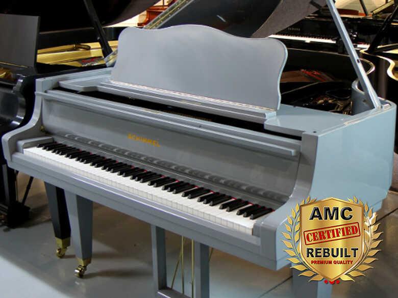 Schimmel Baby Grand Piano Rebuilt, 2020 - FREE Shipping!