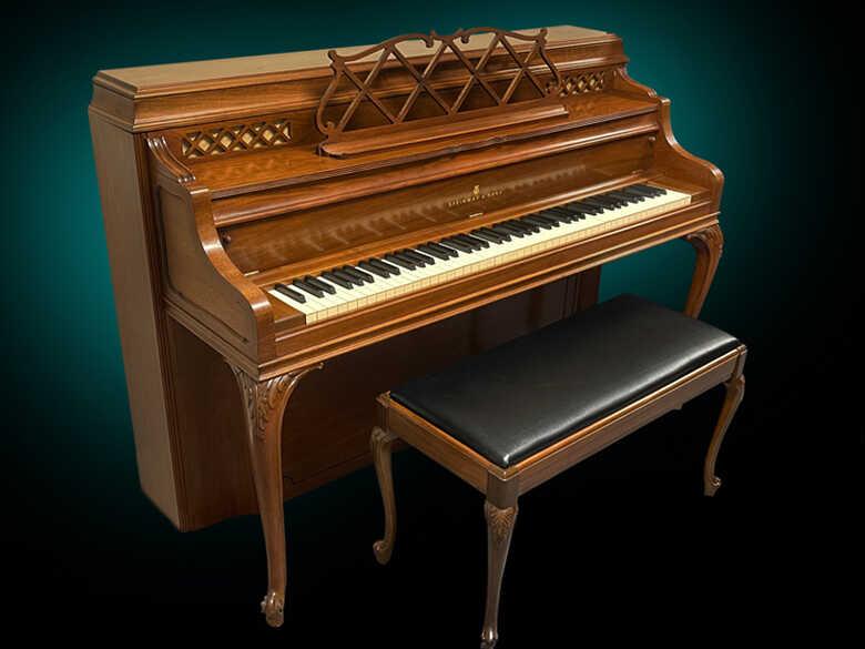 Steinway F Art Case Console Piano