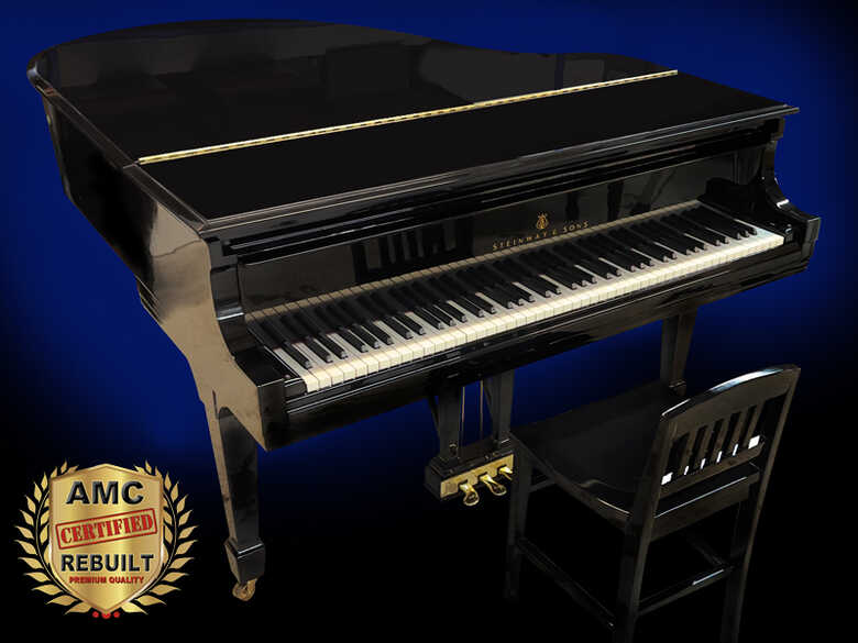 Steinway S Baby Grand Piano, Rebuilt 2021 - FREE Shipping!