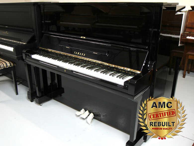 Yamaha U3 Upright Piano, Rebuilt 2021 - FREE Shipping!