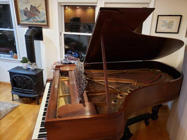 Beautiful Steinway B - extensively restored