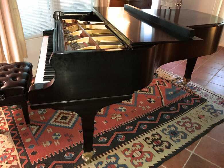 Mason & Hamlin BB 1999 Grand Piano 7' Satin Ebony