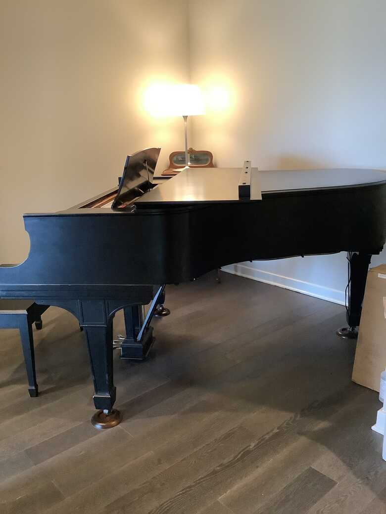 Steinway Grand golden age model A1 completely rebuilt