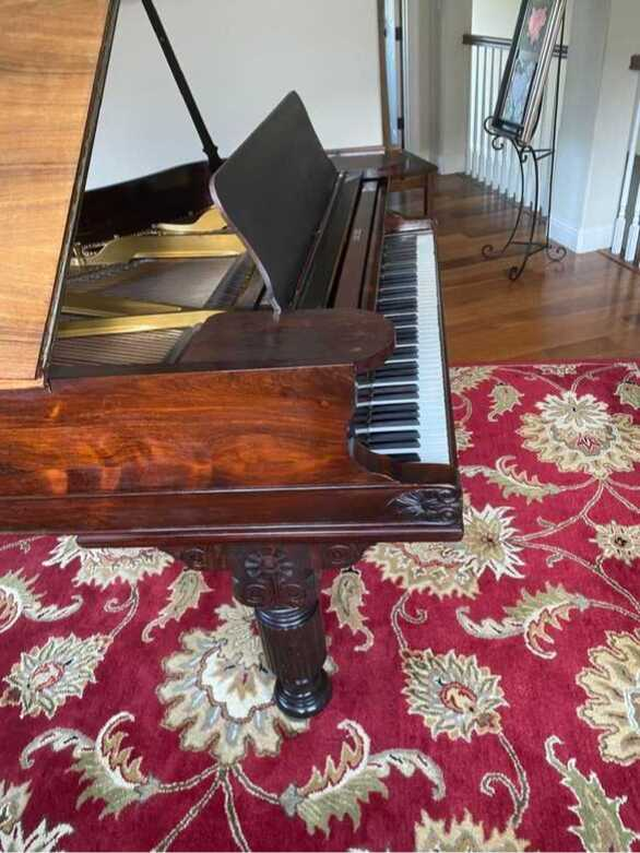 Vintage Steinway Model A 1878 Parlor Grand