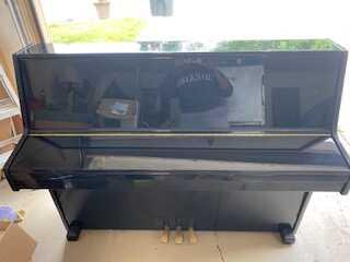 Black Weber Piano