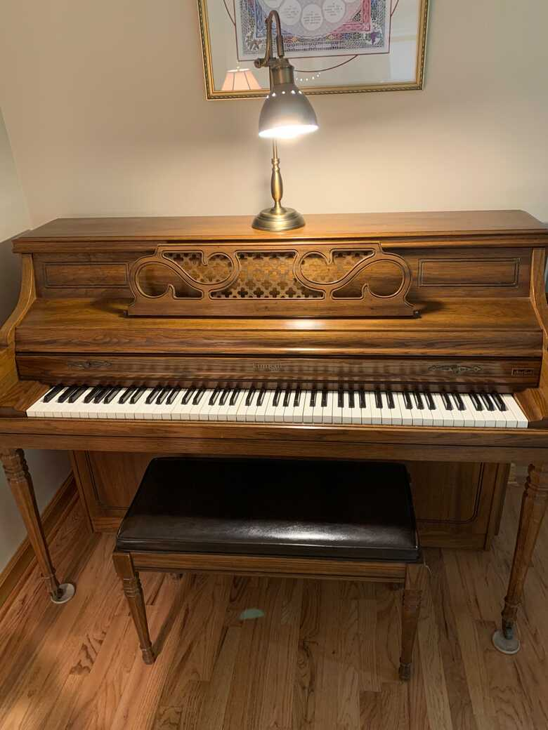 Excellent Kimball Artist Console piano ready for you