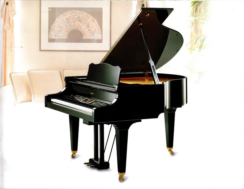 ROLAND DIGITAL BABY GRAND PLAYER PIANO