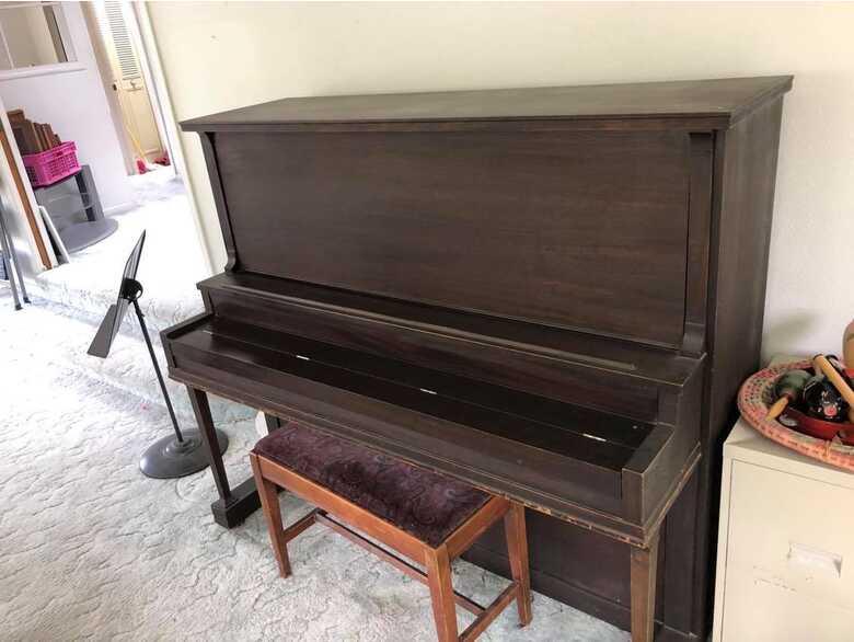 1920's Gulbransen Upright Piano