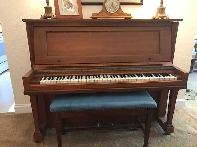 Steinway & Sons 1918 Antique Upright Piano