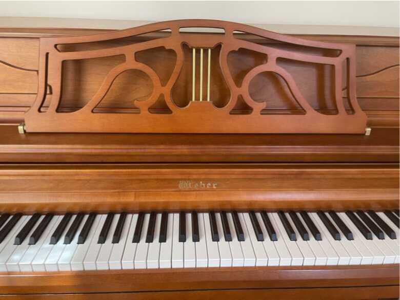 Beautiful upright piano