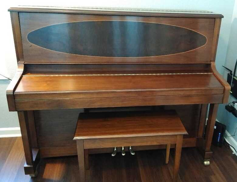 Baldwin 248A Professional Studio Piano in American Walnut