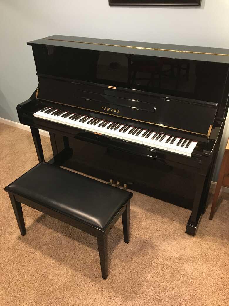 2002 Yamaha U1 Upright Piano