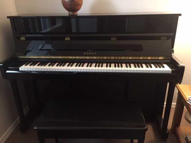 "Kawai K-2 Upright Piano - 45"""