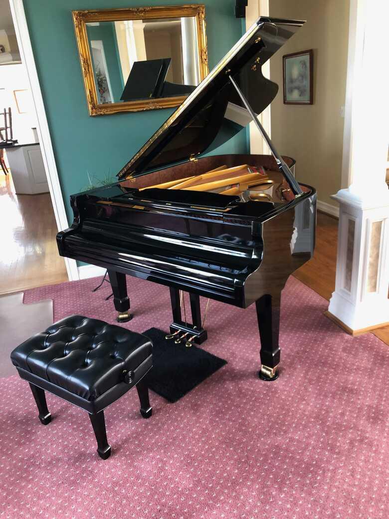 Beautiful Estonia Grand Piano