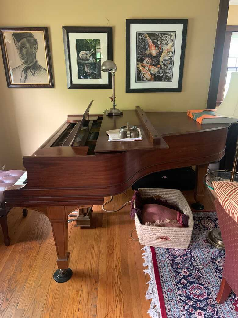 Beautiful old Steinway Model O looking for a good home