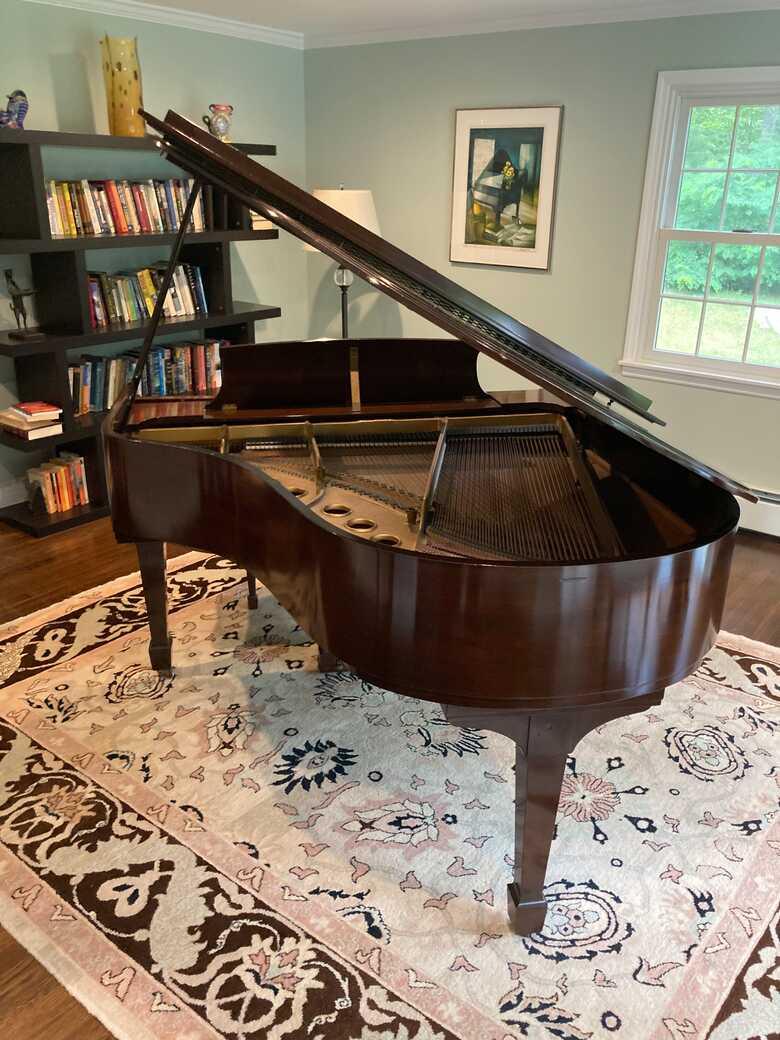 Beautiful Steinway Model M Grand Piano
