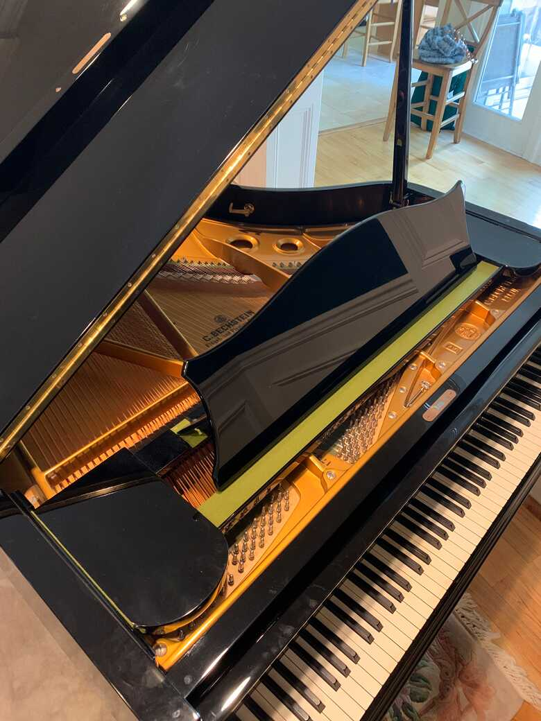 Used C. Bechstein 1980 Grand Piano - in excellent condition