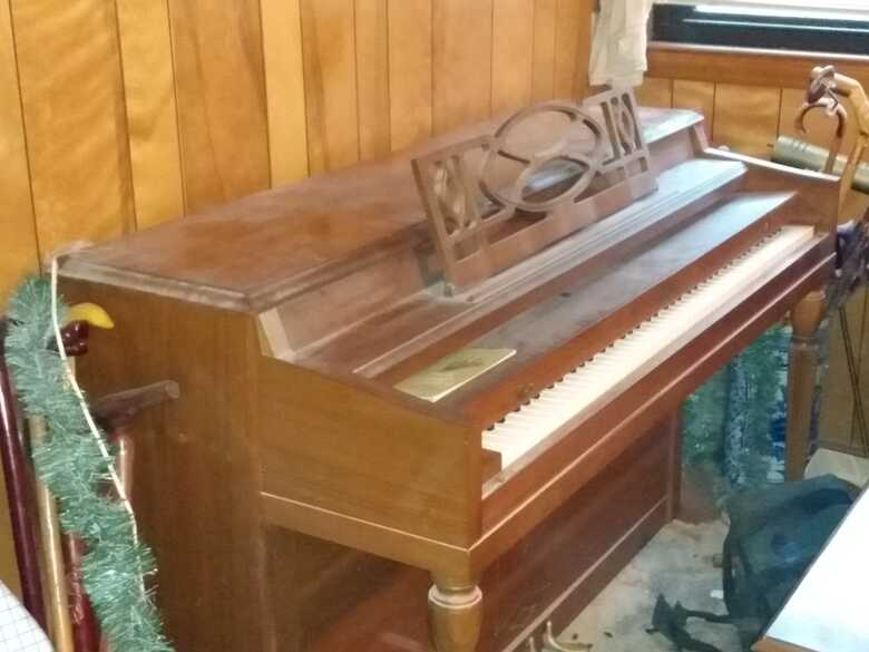 looking to find a good home for this wonderful piano.