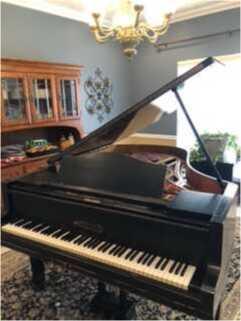"Bluthner Model 6 (6'3"") Grand Piano"