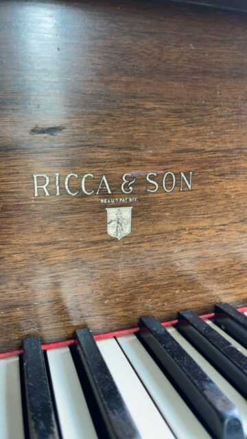 RICCA and SONS BABY GRAND
